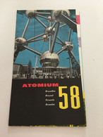 P3 - Panorama ATOMIUM - Exposition Universelle De 1958 - Planches & Plans Techniques