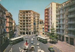 CASTELLAMMARE DI STABIA-NAPOLI-PIAZZA PRINCIPE DI NAPOLI-BUS-AUTOBUS-CARTOLINA VERA FOTOGRAFIA VIAGGIATA IL 8-10-1971 - Castellammare Di Stabia