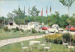 CITROEN DS 21-23-AUTO-CAR-VOITURES-COCHE-A SAVIGNANO MARE-FORLÌ-ITALIA-CARTOLINA VERA FOTOGRAFIA- VIAGGIATA IL 29-8-1968 - Passenger Cars