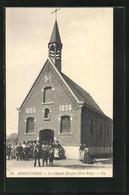 CPA Armentiéres, La Chapelle Rompue, Biset Belge - France