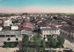 GHEDI-BRESCIA-PANORAMA-CARTOLINA VERA FOTOGRAFIA-VIAGGIATA IL 10-8-1960 - Brescia
