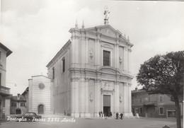 PONTOGLIO-BRESCIA-PIAZZA XXVI APRILE-CARTOLINA VERA FOTOGRAFIA-NON VIAGGIATA-ANNO 1955-1960 - Brescia