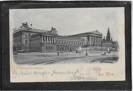 AK 0575  Gruss Aus Wien - Reichsraths-Gebäude / Verlag Ledermann Um 1898 - Wien Mitte
