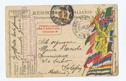 REGIO ESERCITO ITALIANI - CORRISPONDENZA IN FRANCHIGIA - POSTA MILITARE 78 ( 6359) - War 1914-18