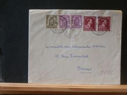 91/122  LETTRE   BELGE  1951  CINEY POUR PARIS - Belgium