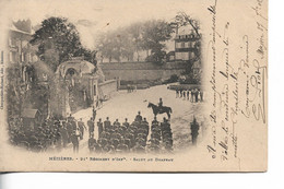 MEZIERES - 91e Régiment D'Infanterie - Salut Au Drapeau - Regiments