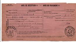 AVIS DE SAINT ETIENNE POUR SAINT JULIEN CHAPTEUIL HAUTE LOIRE 1950 - 1921-1960: Modern Tijdperk