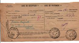 AVIS DE SAINT ETIENNE POUR VOREY HAUTE LOIRE 1948 - 1921-1960: Modern Tijdperk