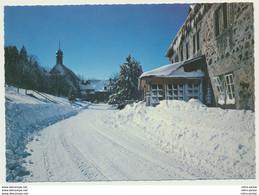 AK  Kloster Kreuzberg Rhön Bischofsheim Verschneite Straße Im Ort - Unclassified