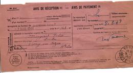AVIS DE SAINT ETIENNE POUR VOREY HAUTE LOIRE 1949 - 1921-1960: Modern Tijdperk