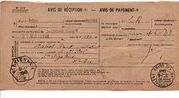 AVIS DE SAINT ETIENNE POUR SAINTE SIGOLENE HAUTE LOIRE 1948 - 1921-1960: Modern Tijdperk