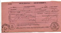 AVIS DE SAINT ETIENNE POUR SAINT PAL DE MONS  HAUTE LOIRE 1948 - 1921-1960: Modern Tijdperk