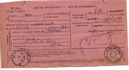 AVIS DE SAINT ETIENNE POUR SAINT PAL DE MONS  HAUTE LOIRE 1951 - 1921-1960: Modern Tijdperk