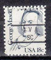 USA Precancel Vorausentwertung Preo, Locals South Carolina, Iva 840 - Prematasellado