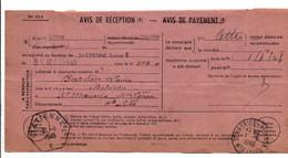 AVIS DE SAINT ETIENNE POUR SAINT MAURICE DE LIGNON HAUTE LOIRE 1948 - 1921-1960: Modern Tijdperk