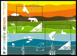 Islanda / Iceland 2010: Foglietto Anno Della Biodiversità / International Year Of Biodiversity S/S ** - Blocs-feuillets