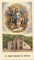 Santino/holycard: SS. VERGINE ADDOLORATA DEL ROMITELLO - Santuario Borgetto (PA) - E - PR - Mm. 60 X 105 - Religion & Esotericism