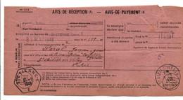 AVIS DE SAINT ETIENNE POUR SAINT DIDIER EN VELAY HAUTE LOIRE 1948 - 1921-1960: Modern Tijdperk