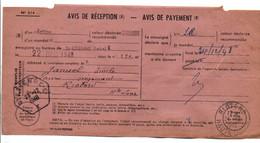 AVIS DE SAINT ETIENNE POUR RIOTORD HAUTE LOIRE 1948 - 1921-1960: Modern Tijdperk