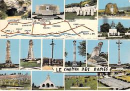 02 - Le Chemin Des Dames - Carte Géographique - Multivues - Unclassified
