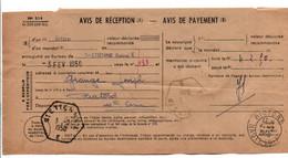 AVIS DE SAINT ETIENNE POUR RIOTORD HAUTE LOIRE 1950 - 1921-1960: Modern Tijdperk