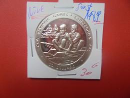 ILE NIUE 50$ 1989 ARGENT (A.16) - Niue