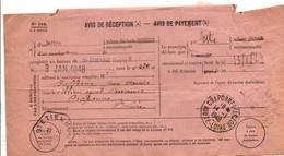 AVIS DE SAINT ETIENNE POUR CRAPONNE SUR ARZON HAUTE LOIRE 1948 - 1921-1960: Modern Tijdperk