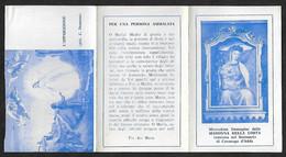 Santino/holycard: MADONNA DELLA COSTA - Santuario Di Cavenago D'Adda - E - A - Mm. 70 X 112 - Religion &  Esoterik