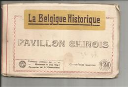 """CARNET DE DIX CARTES """" La Belgique Historique """"  PAVILLON CHINOIS - Verzamelingen"""
