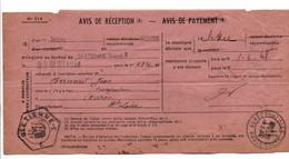 AVIS DE SAINT ETIENNE POUR AUREC SUR LOIRE HAUTE LOIRE 1948 - 1921-1960: Modern Tijdperk