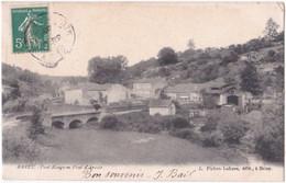 54. BRIEY. Pont Rouge Ou Pont D'Arcole - Briey