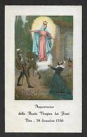 Santino/holycard: B.V. DEI FIORI - Santuario Di Bra - E - PR - Mm. 67 X 110 - Religion & Esotericism