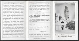 Santino/holycard: MADONNA DEL SOCCORSO - Santuario - Alassio - E - A - Mm. 78 X 123 - Religion &  Esoterik