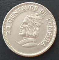 HONDURAS - 20 CENTAVOS 1973 - KM 81 - Honduras
