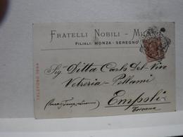 MONZA  -- SEREGNO  --    FRATELLI  NOBILI - - Monza