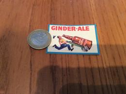 Ancienne étiquette Boîte D'allumettes Belgique «GINDER ALE» (bouteille, Bière, Bier) - Matchboxes