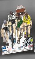 GROS PIN's  TOUR DE FRANCE MAILLOT MEILLEUR GRIMPEUR ( Tour 2015)  RTL FRANCE 3 RMC LCI - Cycling