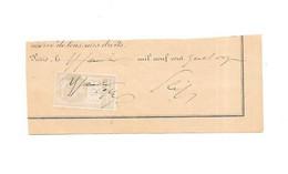 Timbre Fiscal Quittances 10 Centimes 1914, PARIS - Revenue Stamps