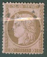 France   54  Ob   B Ou  B/TB - 1871-1875 Ceres