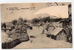 DC4390 - Ansichtskarte: Belgisch Kongo - Zone Des Stanley-Falls - Congo Belga - Otros