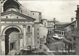 MANTOVA PANORAMA ANTICO -VISTA SUL MERCATO DALL'ALTO -FG - Mantova
