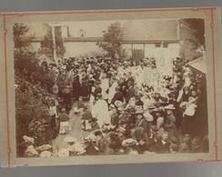AVIZE 1891 FETE DE DIEU PHOTO ANCIENNE SUR CARTON D EPOQUE - Sin Clasificación