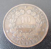 France - Monnaie 10 Centimes Cérès 1897 A - TB - Francia