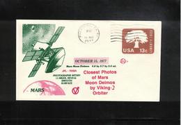 USA 1977 Space / Raumfahrt Project Viking 2 Mission To Mars Interesting Letter - Etats-Unis