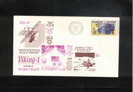 USA 1975 Space / Raumfahrt Project Viking 1 Mission To Mars Interesting Letter - Stati Uniti