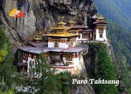Bhutan Paro Taktsang Tiger's Nest New Postcard - Bhutan