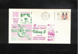 USA 1975 Space / Raumfahrt Project Viking 2 Mission To Mars Interesting Letter - Stati Uniti