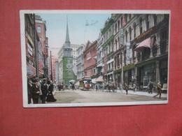 Trolley On Washington Street  - Massachusetts > Boston     Ref 4420 - Boston