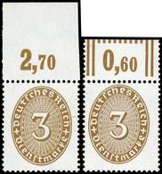 1927, Deutsches Reich, D 114 P+W, ** - Dienstpost