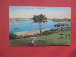 Hand Colored    Hyannis - Massachusetts   Ref 4420 - Unclassified